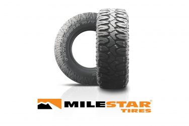 TIRECO'S MILESTAR BRAND ANNOUNCES PATAGONIA M/T F-LOAD RANGE MAXIMUM TRACTION TIRE