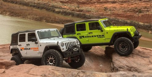 TIRECO'S MILESTAR BRAND PARTNERS WITH TWISTED JEEPS IN MOAB, UTAH