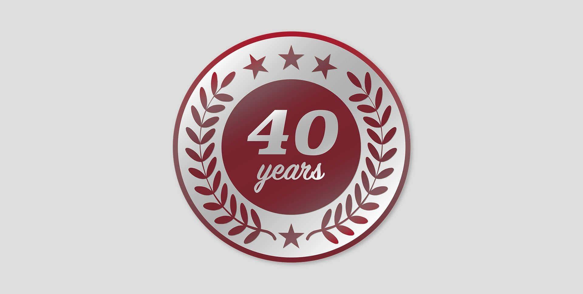 2012 – 40 Years