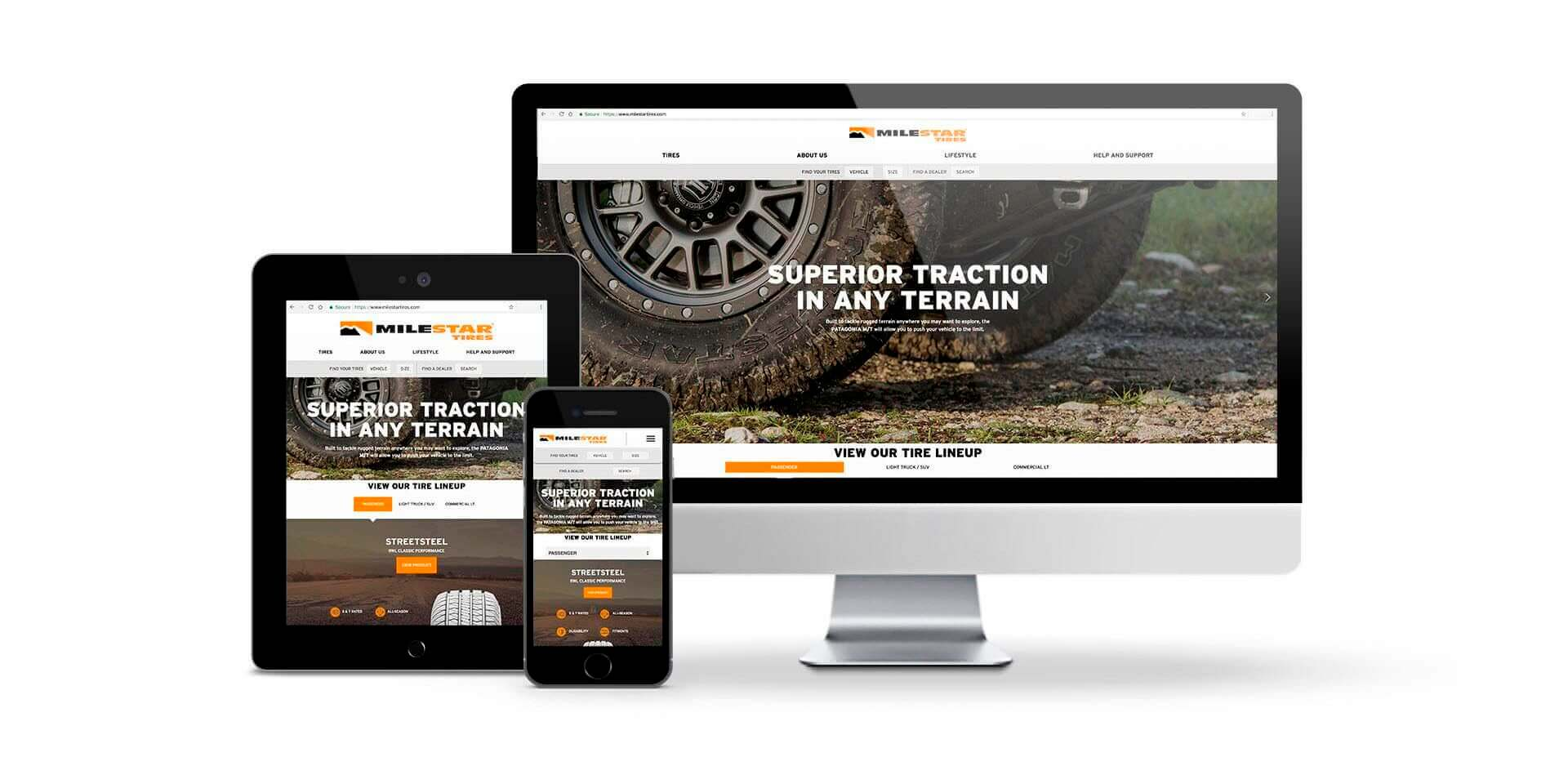 TIRECO'S MILESTAR BRAND LAUNCHES NEW RESPONSIVE WEBSITE